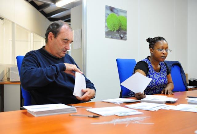Préparation des documents destinés à la numérisation