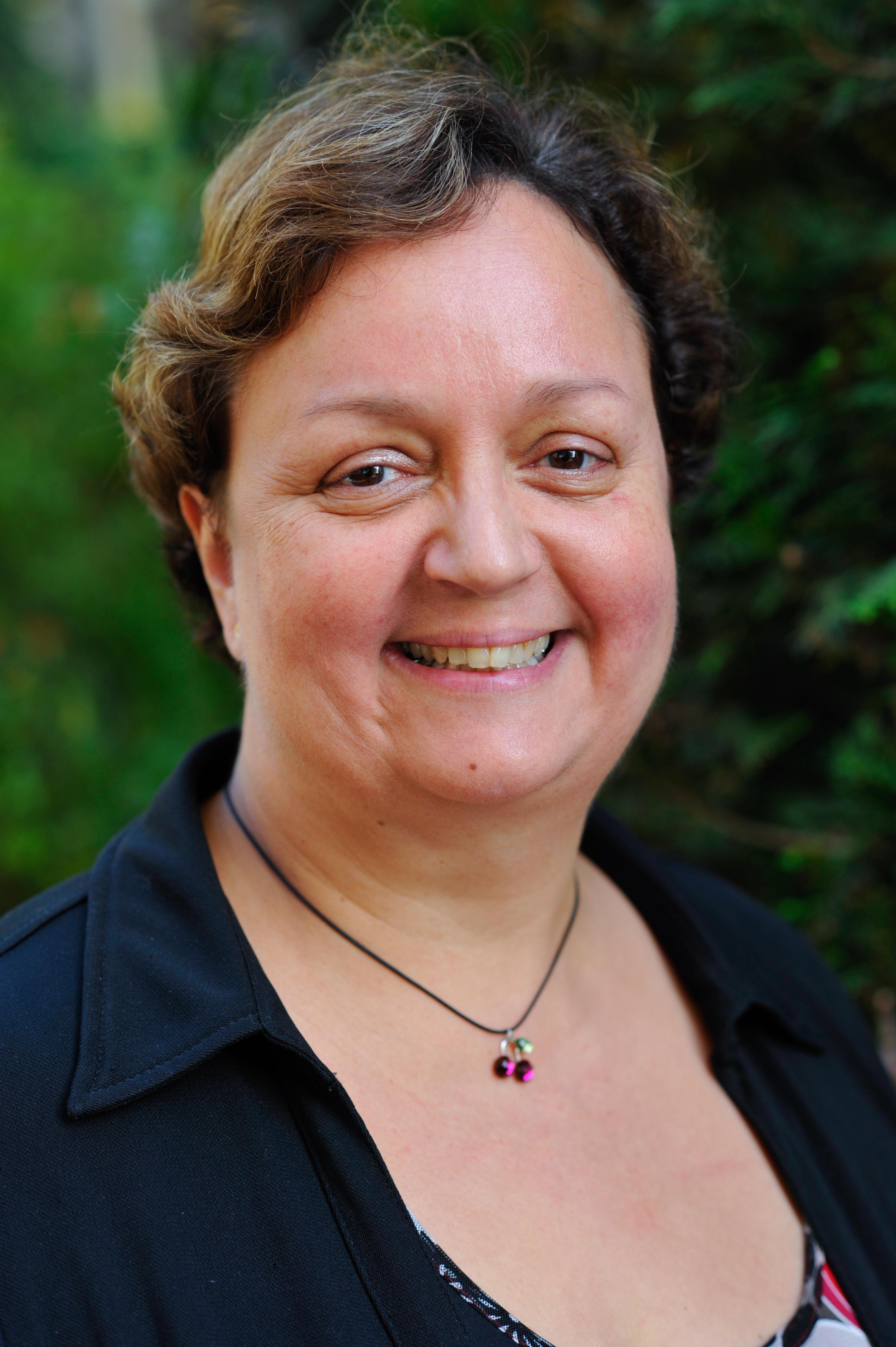 Françoise Laguide, membre de l'équipe Mission Handicap Société Générale