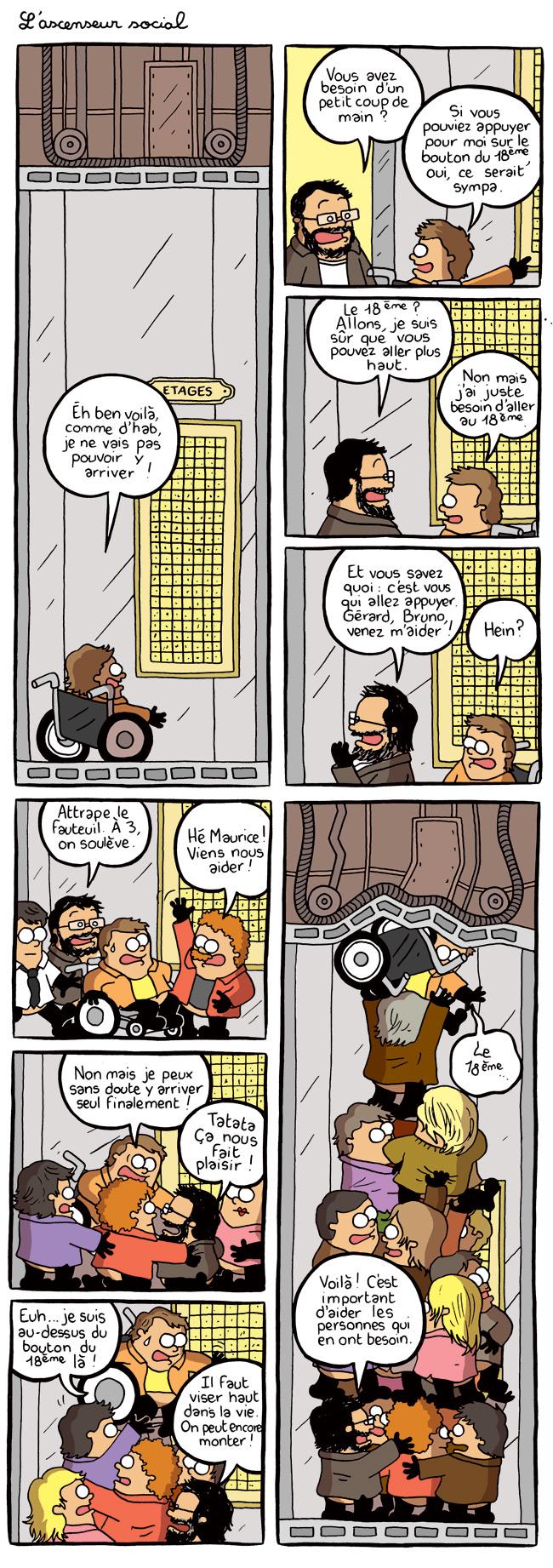L'ascenseur social